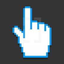 cursor hand pixels