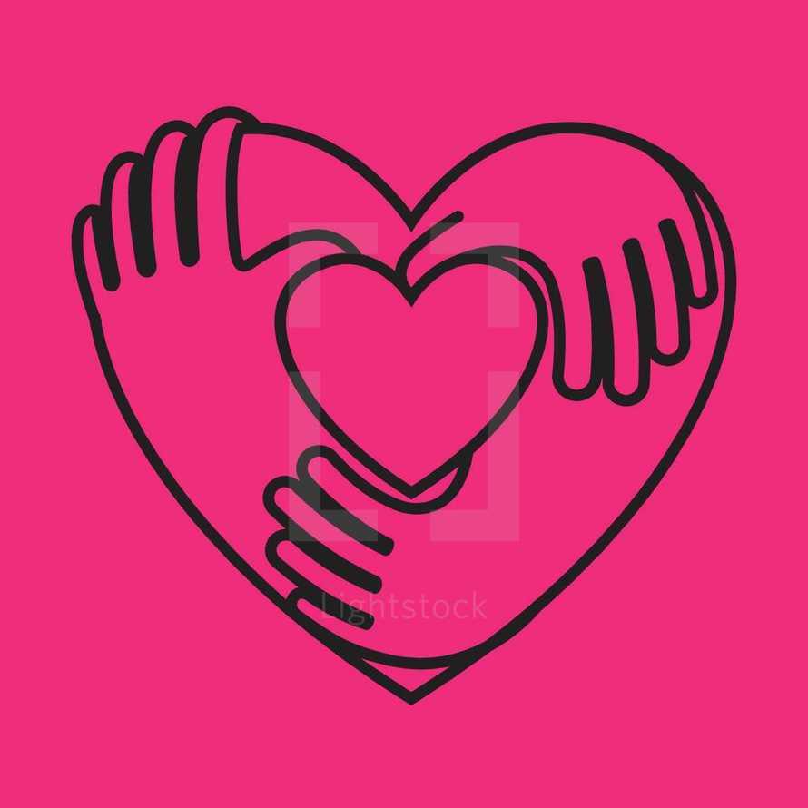 Heart, Hands, Hug, Love, Unity, Community, Together