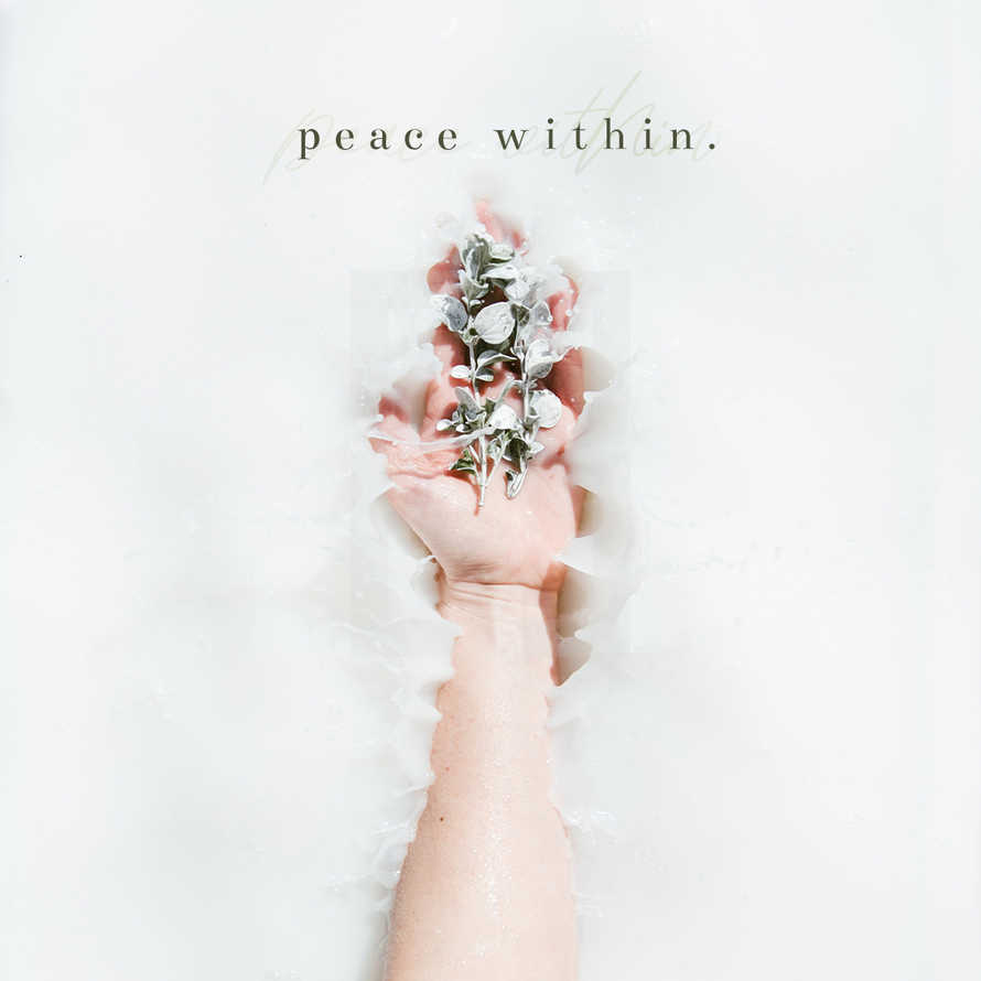 Peace Within Social Graphic