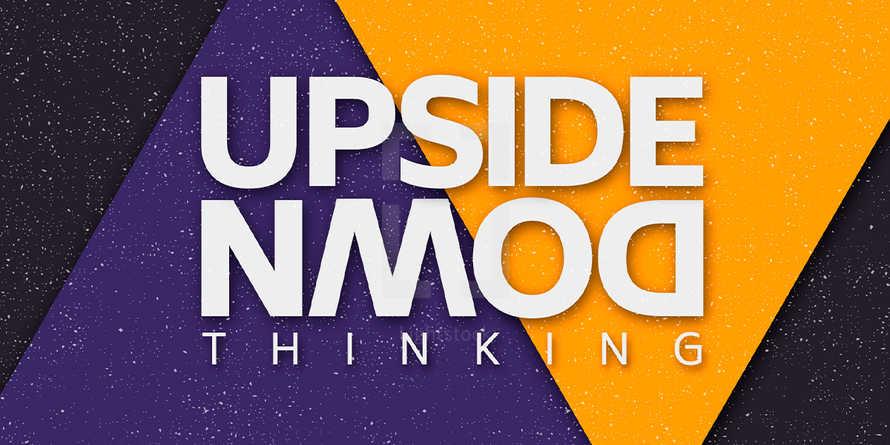 Upside Down - Sermon Series - Slides